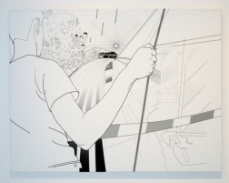 New Work, On Deck, print, 130 x 100 cm, 2004